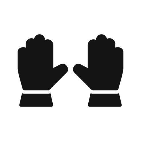 Gloves Vector Icon