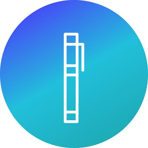 ikoner för vektormarkörer