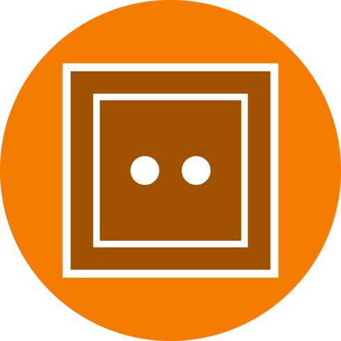 Ícone de vetor de soquete