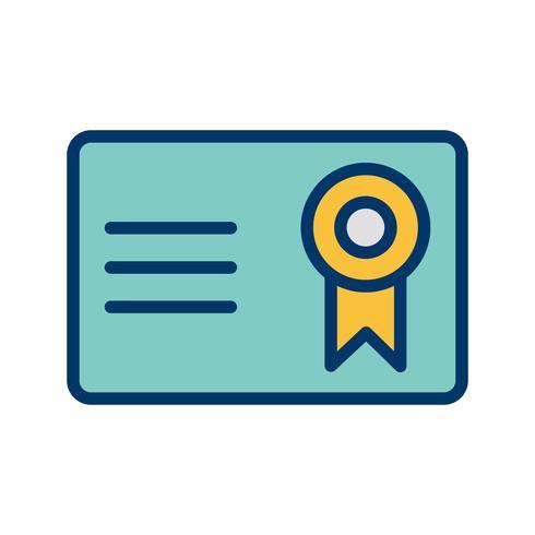 Vector Certificate Vector Icon