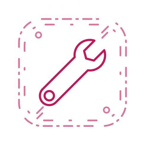 Skiftnyckel Vector Icon