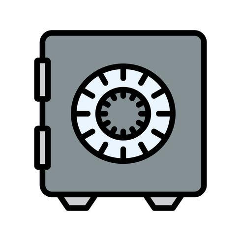 icona del caveau vettoriale