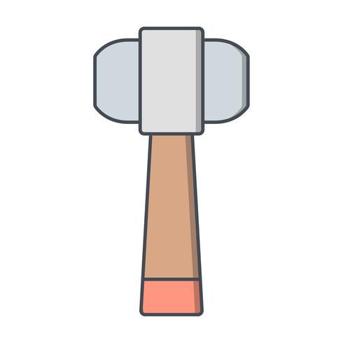 Icono de vector de martillo