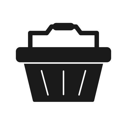 Icona del cestino di vettore
