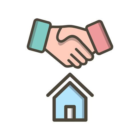 House Deal Vector Icon