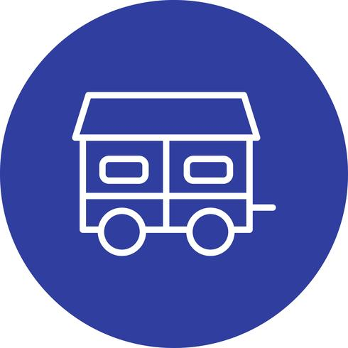 Mobile House Vector Icon