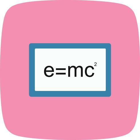 Vector formule pictogram