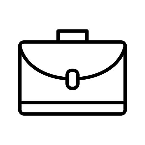 Portfolio Vector pictogram