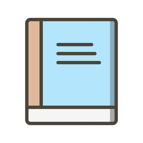 Icona del libro vettoriale
