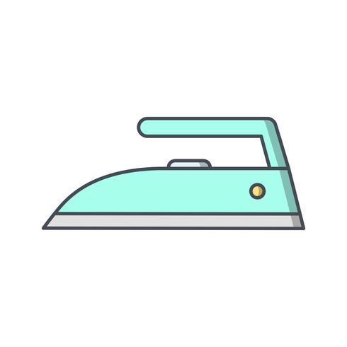 järn vektor ikon