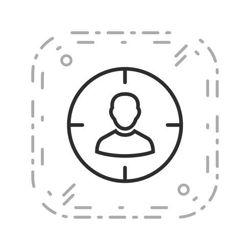 Syfte vektor ikon