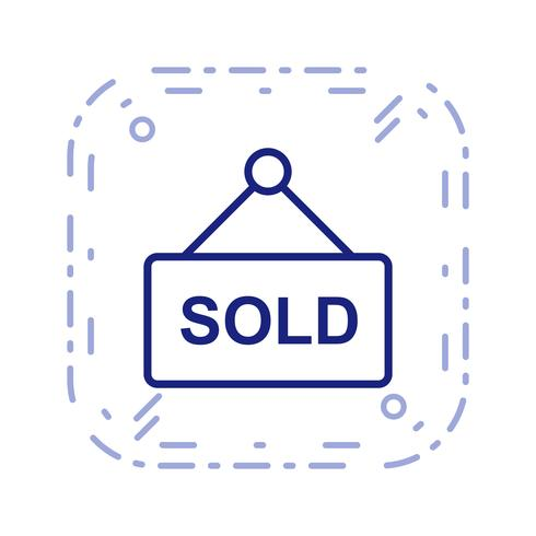 Sold Vector Icon