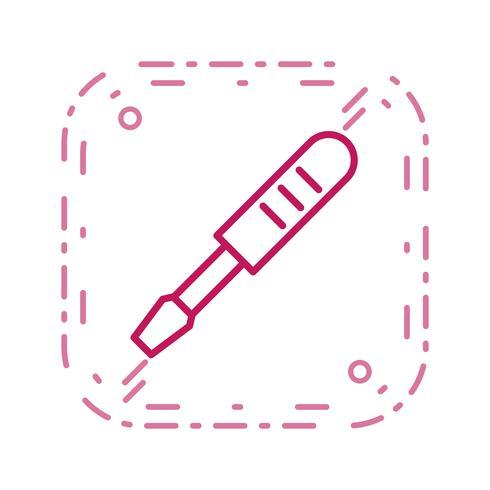 Ícone de vetor de chave de fenda