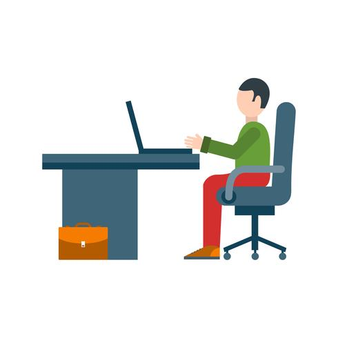 Ícone de vetor de espaço de trabalho