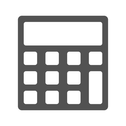 Vector Calculator Icon - Download Free Vector Art, Stock Graphics