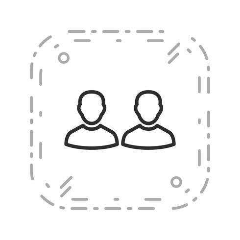 Ícone de vetor de pessoas