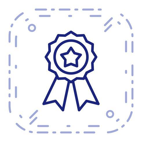 Vector Ribbon Icon