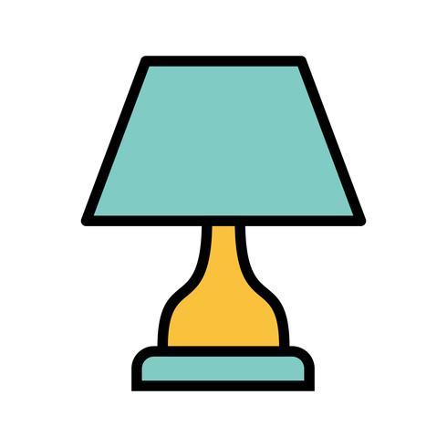Icona di vettore della lampada