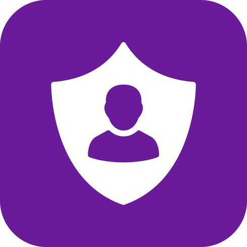 Zakelijke bescherming Vector Icon