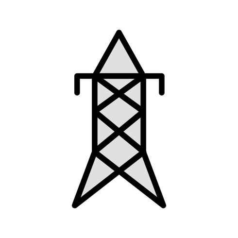 Torre elétrica Vector ícone
