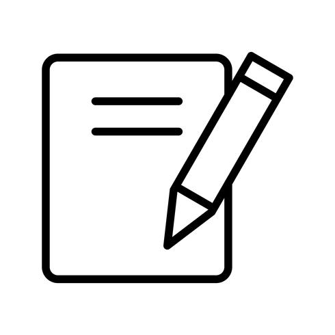 Vector merkt pictogram