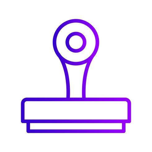 Stempel-Vektor-Symbol