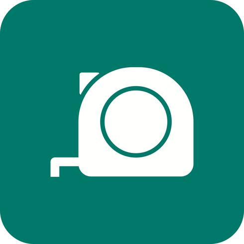 Measuring tape Vector Icon