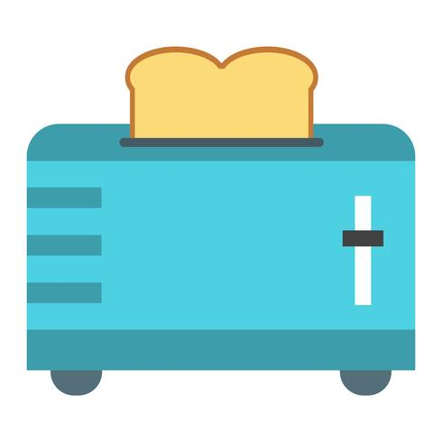 Slice Toaster Vector Icon