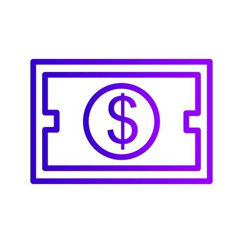 Investitions-Vektor-Symbol