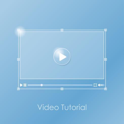 Video tutorial banner
