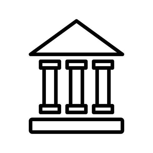 vektor utbildningsinstitut ikon