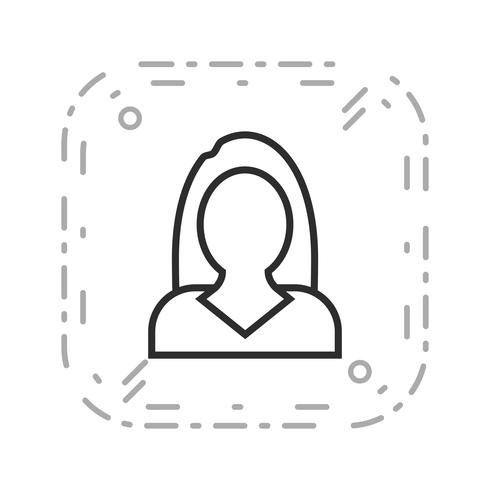 Zakenvrouwen Vector Icon