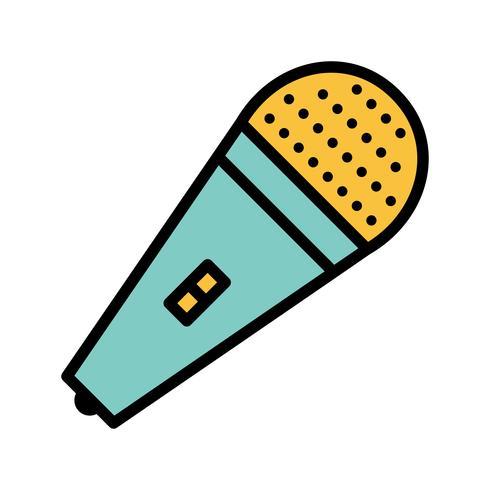 Icône de vecteur mic