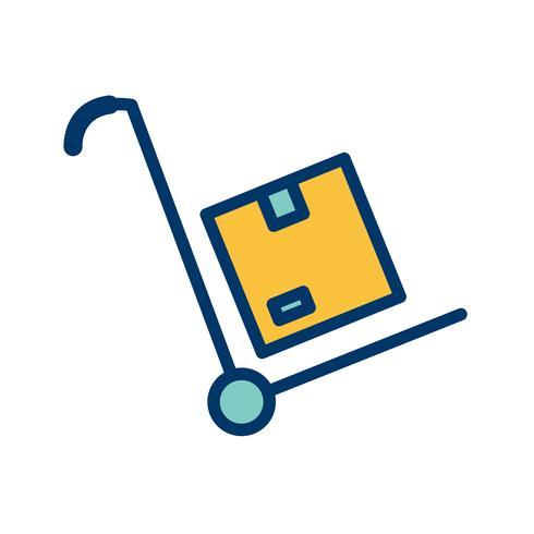Vector Trolley pictogram