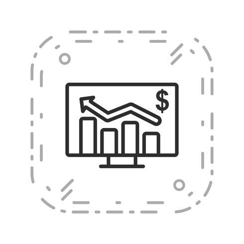 icône de vecteur graphique entreprise