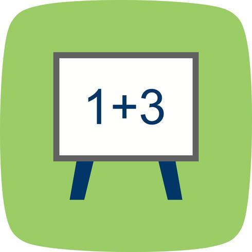 Vektor-Mathematik-Symbol