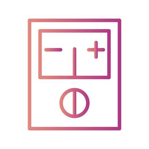 voltmeter vector pictogram