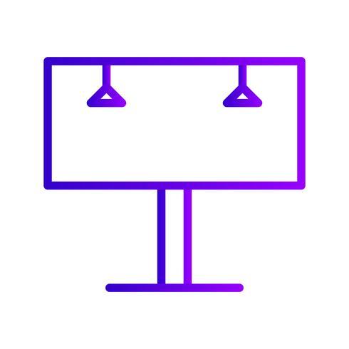 ikon för skyltfältet