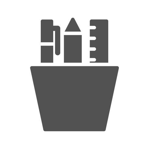 Icône de papeterie de vecteur