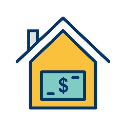 House Price Vector Icon