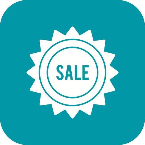 Vector icono de venta