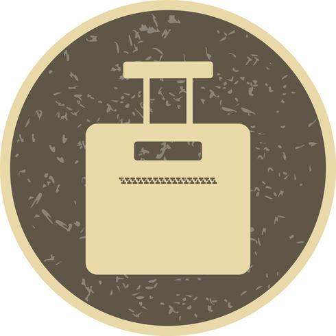 Ícone de saco de vetor