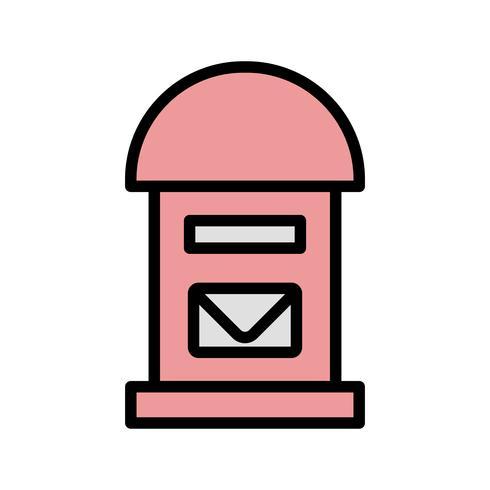 Vector Postbox Icon