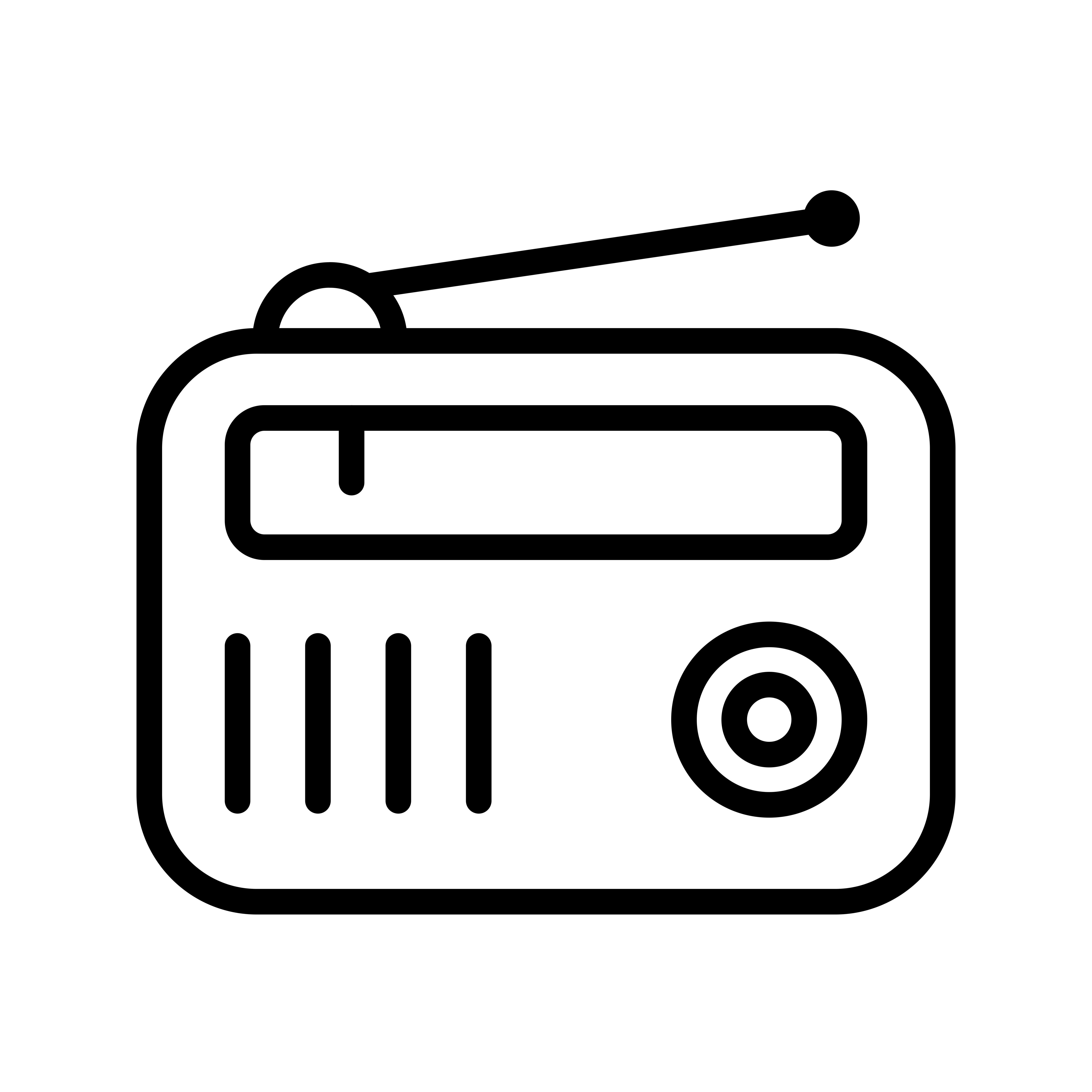 Radio Vector Icon - Download Free Vectors, Clipart ...