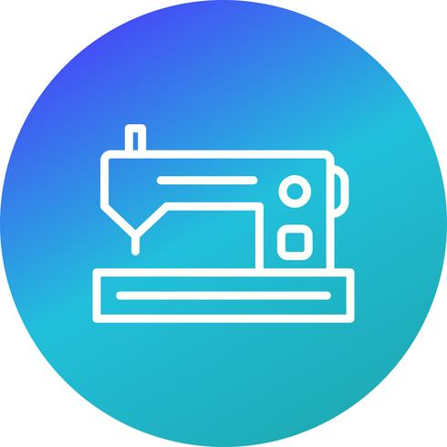 Machine à coudre Vector Icon