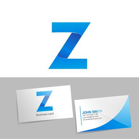 Logo dégradé avec la lettre du logo