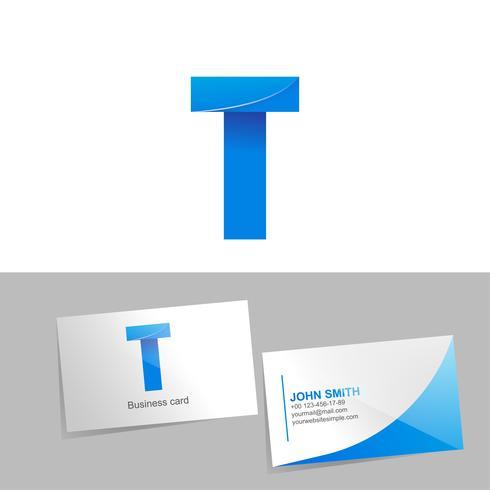 Logo sfumato con la lettera del logo