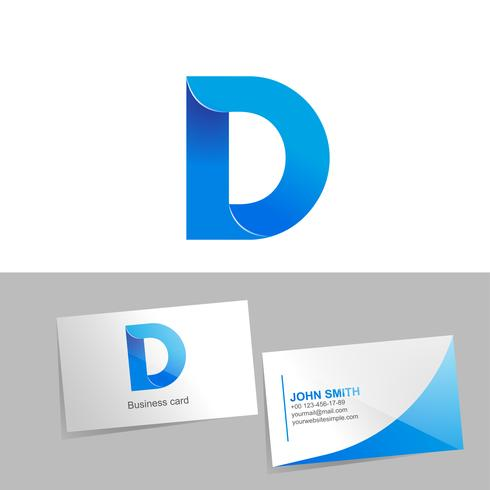 Gradient Logo With The Letter D Of The Logo Download Free Vectors Clipart Graphics Vector Art