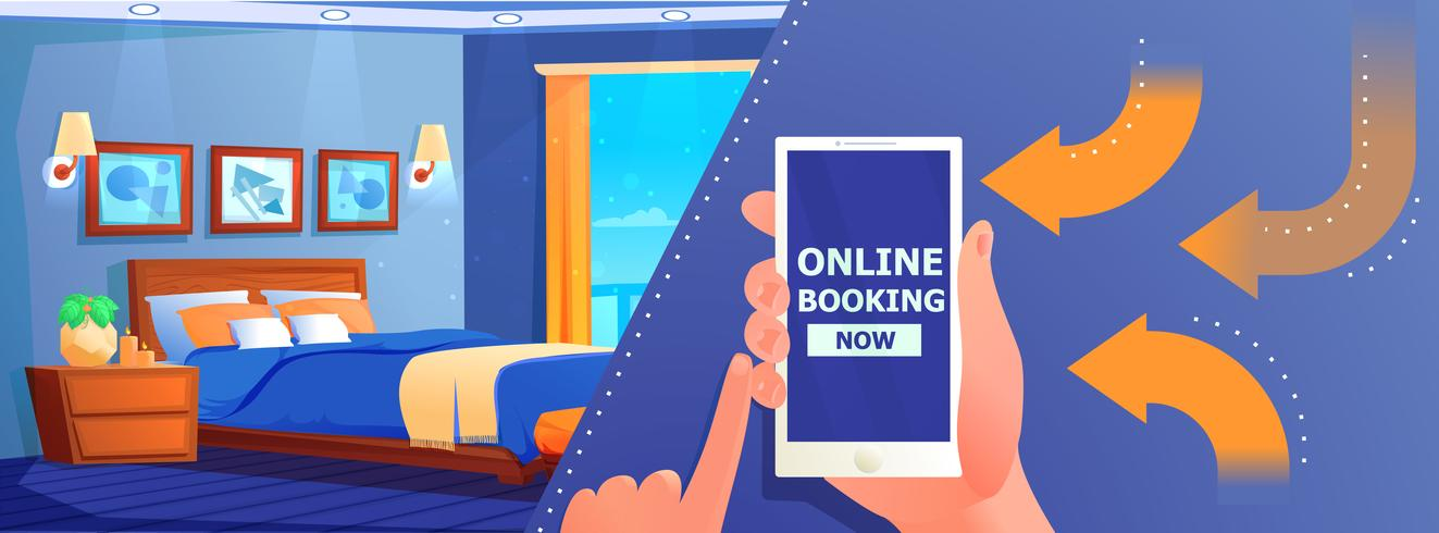 Hotel reserva online banner