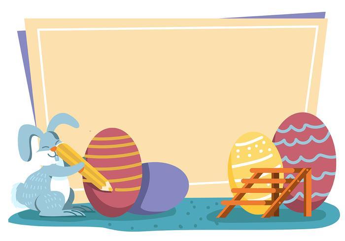 Sfondo di Pasqua vettore